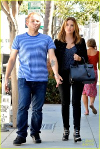 *EXCLUSIVE* Ashley Benson : Too Cute for Lunch at E. Baldi